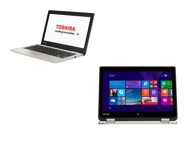 Toshiba devoile ses convertibles ultraportables Satellite Radius 11 et Satellite CL10-B