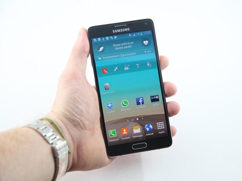 Bon plan : le Samsung Galaxy Note 4 à 550€