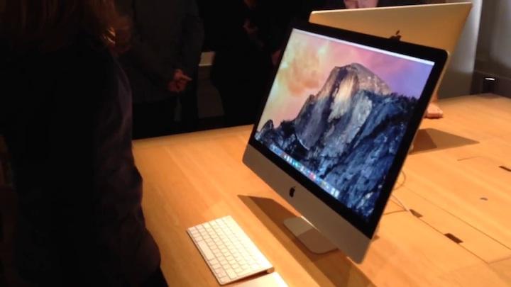 Apple iMac Retina 5k: découverte en vidéo