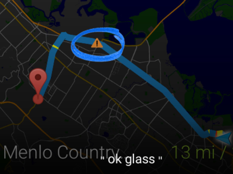 Waze est sur les Google Glass