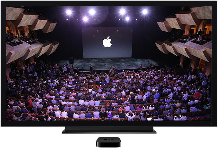 La keynote sur Apple TV