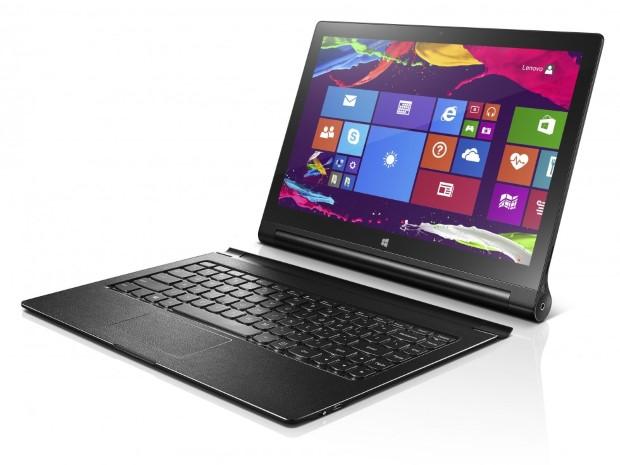 Lenovo présente sa Yoga Tablet 2 sous Windows 8.1