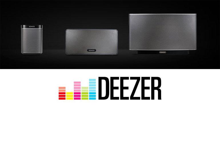 Sonos offre un abonnement d'un an à Deezer