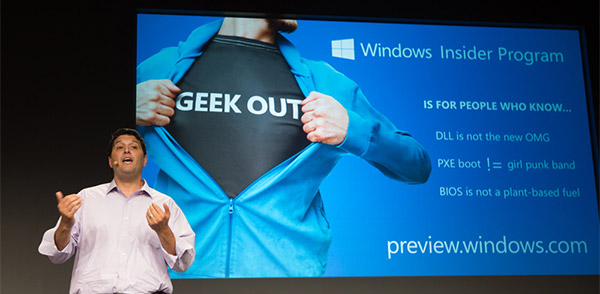 Les geeks invités à tester Windows 10