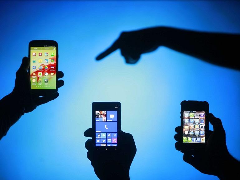 Android atteint les 80% de PDM en France, iOS en léger repli