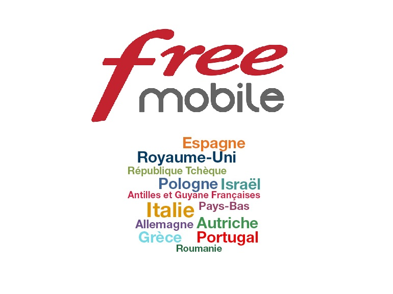 free mobile tarif appel depuis espagne