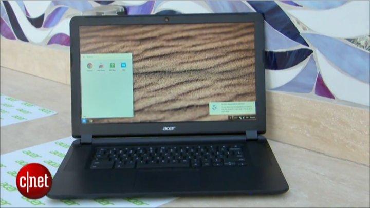 CES 2015 : Acer Chromebook 15 }