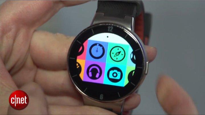 CES 2015 : la Watch d'Alcatel One Touch