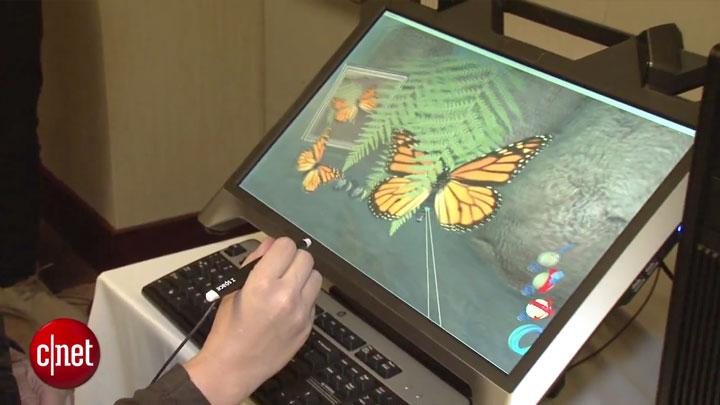 CES 2015 : HP Zvr, un moniteur 3D pour la réalité virtuelle}