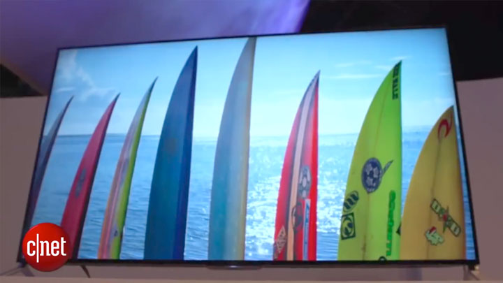 CES 2015 : TV Sony 4K sous Android TV}