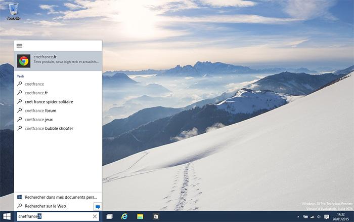 Recherche Windows