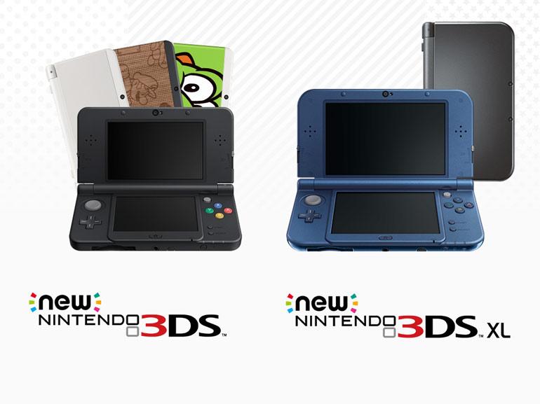 Les Nintendo New 3DS et New 3DS XL sont en vente