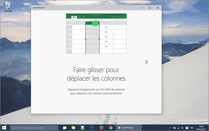 Colonne Excel