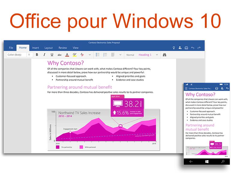Télécharger Office pour Windows 10 : Word, Excel et Powerpoint