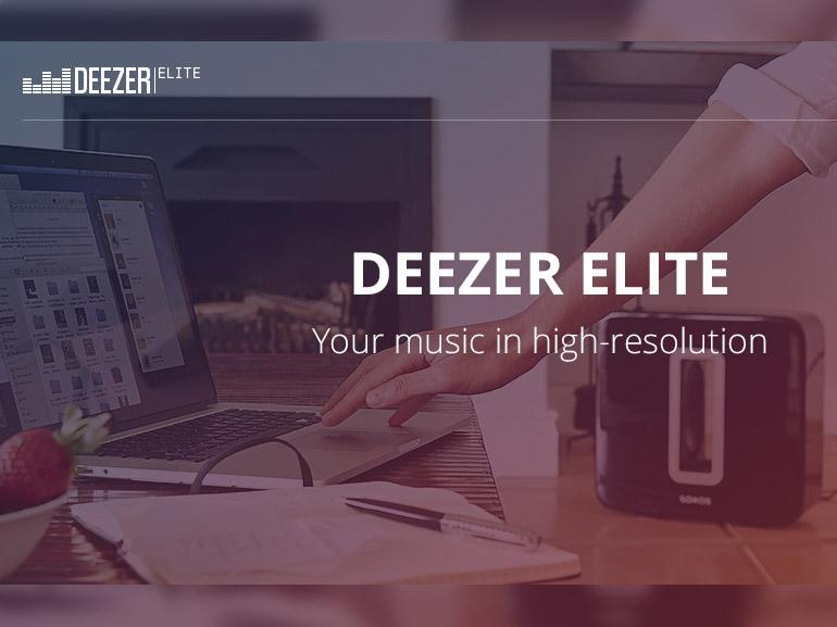 Deezer Elite : disponible en France avec Sonos