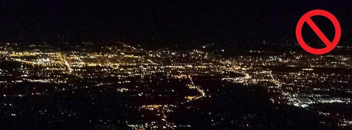 Drone la nuit