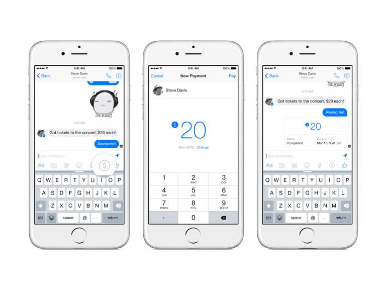 Facebook Messenger : le transfert d'argent arrive en France d'ici la fin de l'année