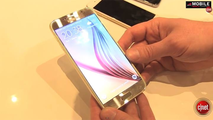 MWC 2015 : Galaxy S6, l'iPhone 6 version Samsung en vidéo