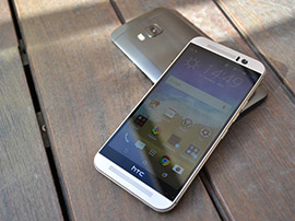 HTC One M9 vs HTC One M8 : comparatif}