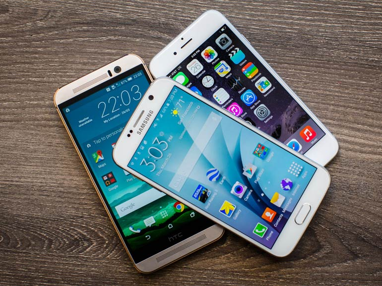 Galaxy S6 vs iPhone 6 vs HTC One M9 : la comparaison photo