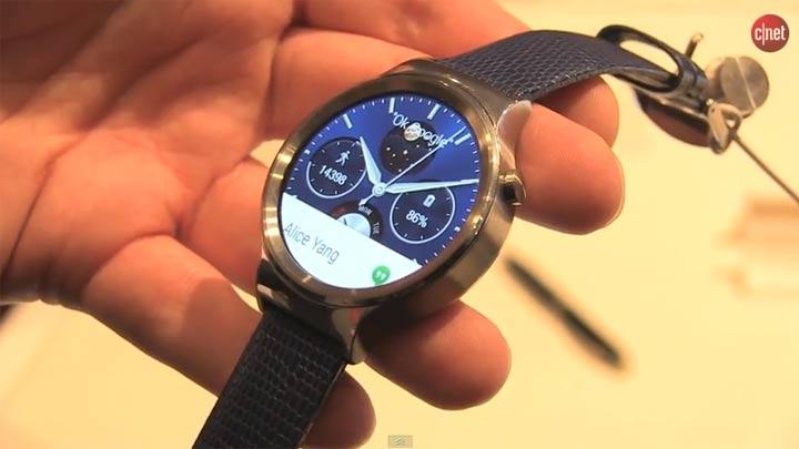 MWC 2015 : Huawei Watch}