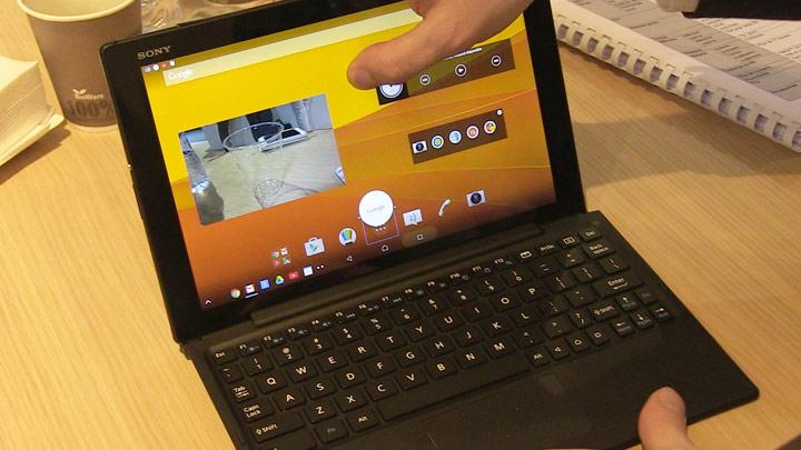 MWC 2015 : Sony Xperia Z4 Tablet