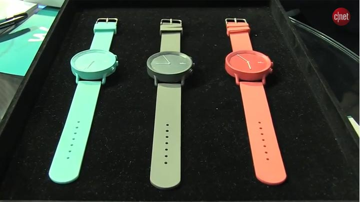 MWC 2015 : Wiko Watch marche sur les platebandes de Withings