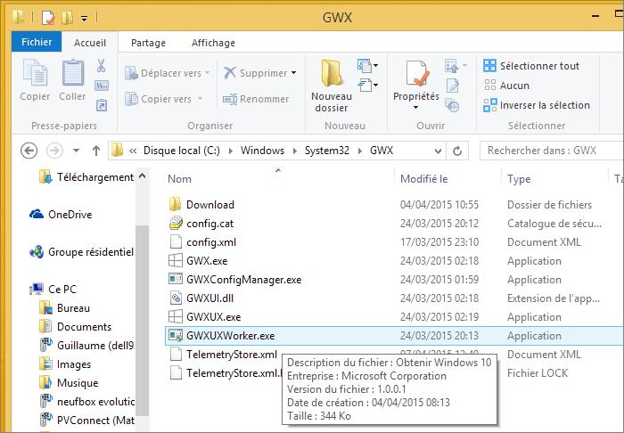 Outil de téléchargement Windows 10