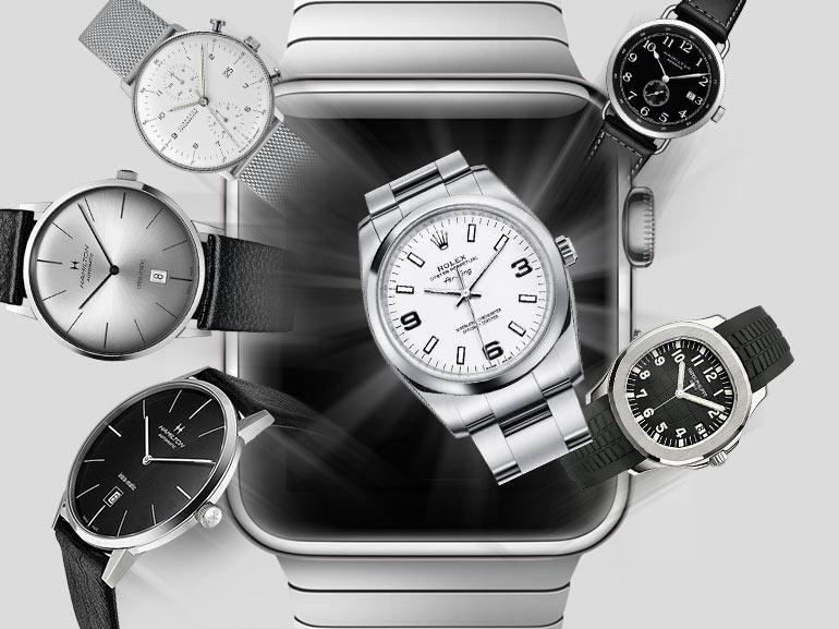 Pour le prix d'une Apple Watch, voici les montres mécaniques que vous pourriez vous acheter