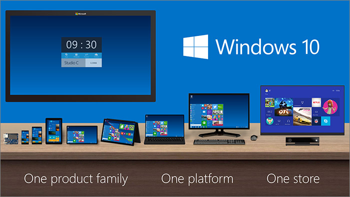 Windows 10 sur tous les appareils