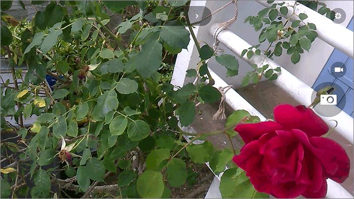 Interface de l'appareil photo