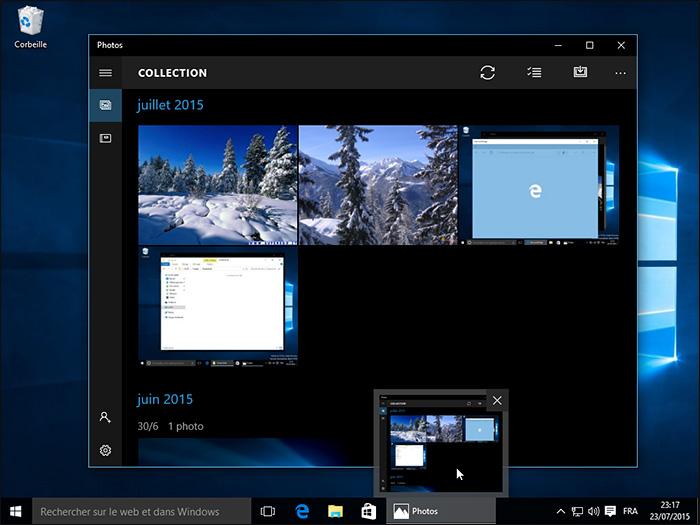 Applications Windows 10