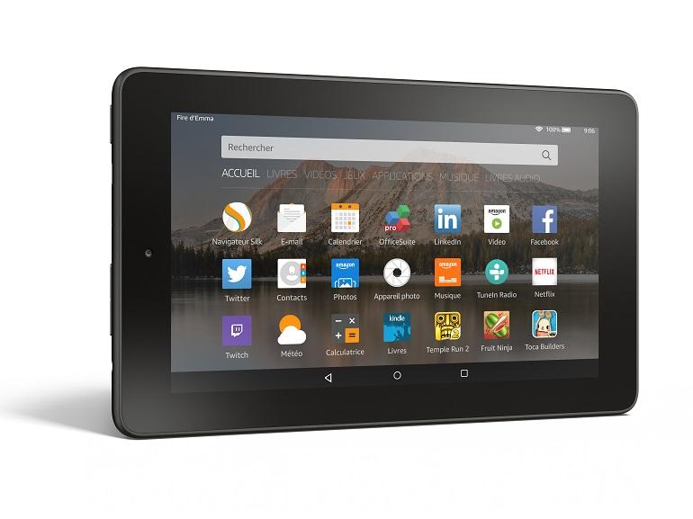 Amazon: une nouvelle tablette Fire à moins de 60 euros, mais avec de la pub dedans