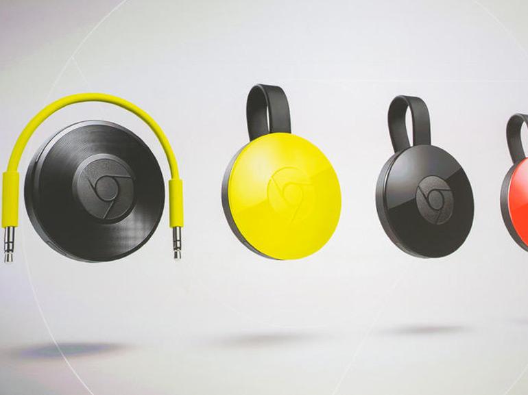 Google dévoile deux nouveaux Chromecast TV et Audio