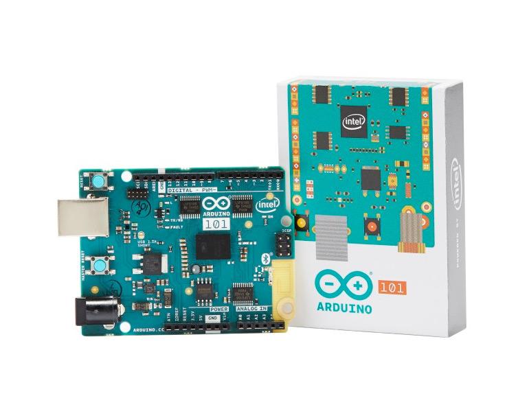 La prochaine carte Arduino Genuino 101 sera animée par le processeur Curie d'Intel