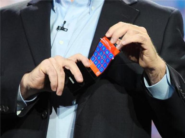 LG prépare également un smartphone pliable, un brevet circule sur la toile