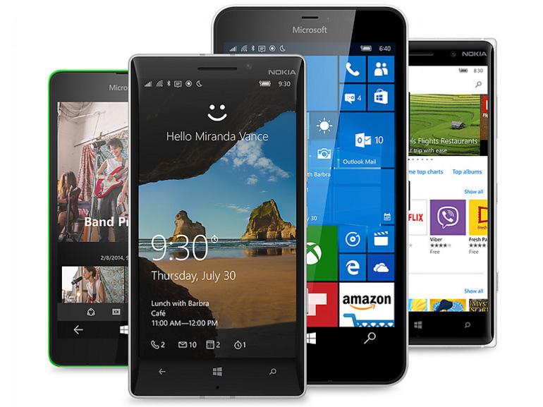 Windows 10 mobile : les smartphones éligibles à Fall Creators Update
