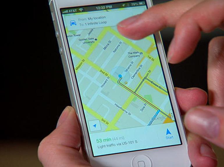 Google Maps : une mise à jour permet de partager sa position en temps réel