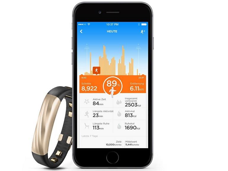 Bon plan : bracelet connecté Jawbone UP3 à 103€ au lieu de 180€