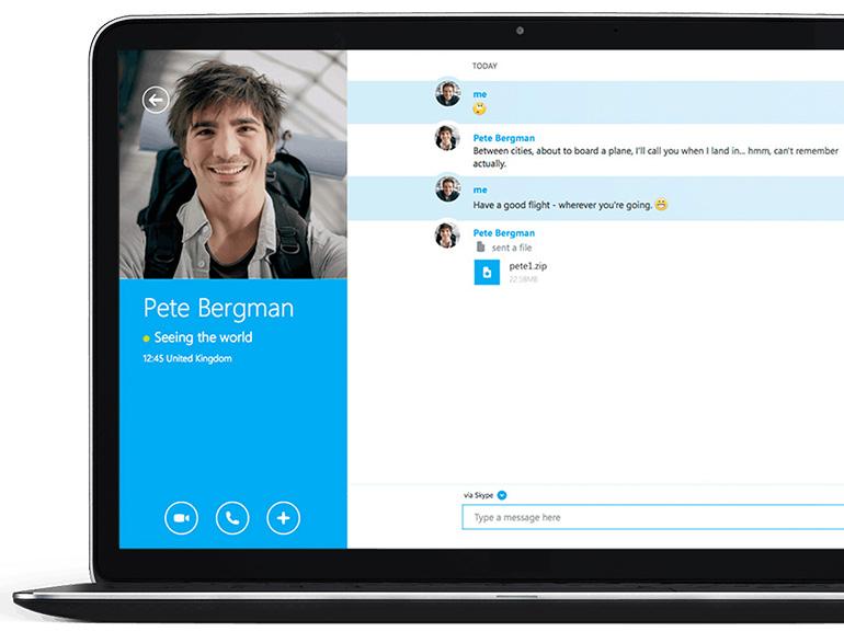 Skype 8.52 permet de planifier des appels de groupe et facilite le partage de contacts