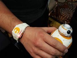 CES 2016 : Force Band, le bracelet pour contrôler le droid BB-8 de Star Wars