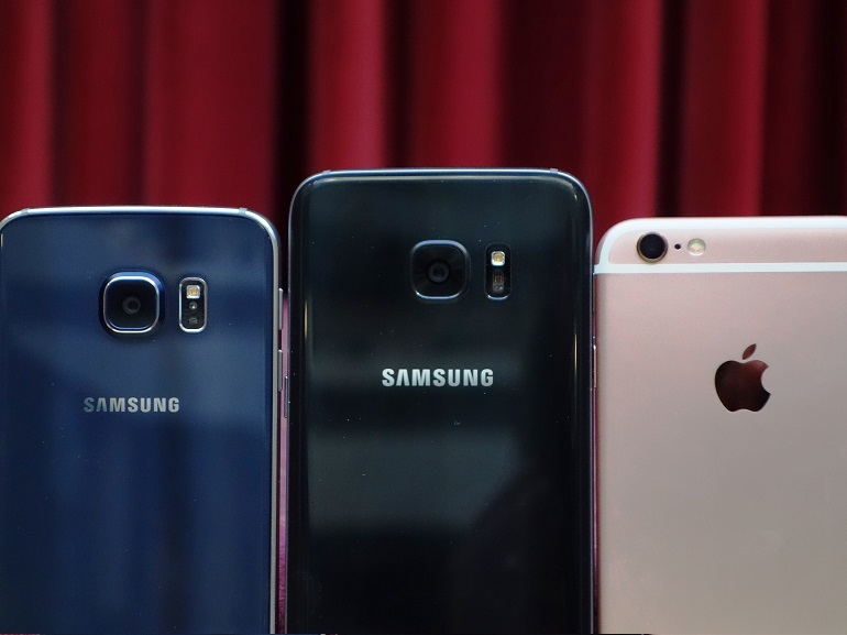 Galaxy S7 vs iPhone 6s vs Galaxy S6 : lequel fait les plus belles photos ?