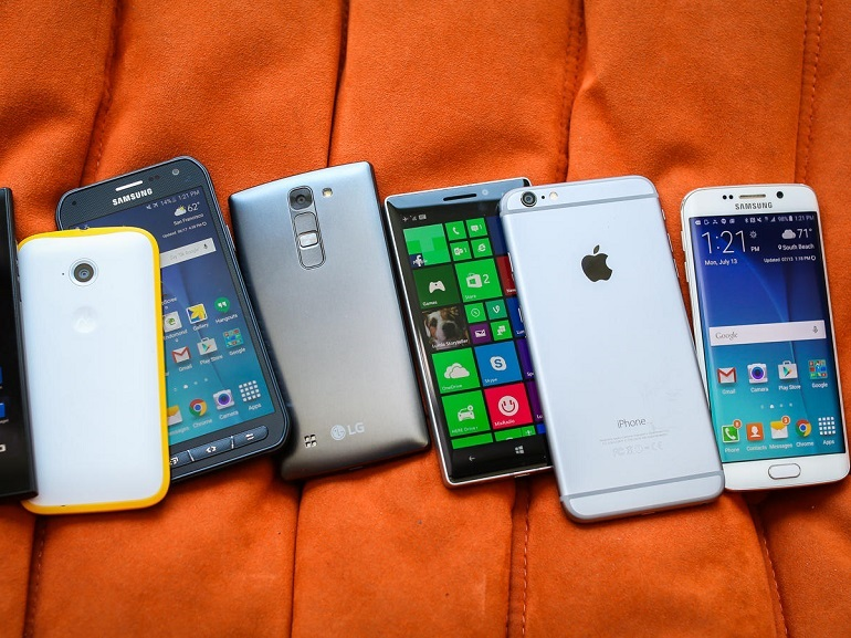 Smartphones : Android et iOS détiennent 99,6% du marché