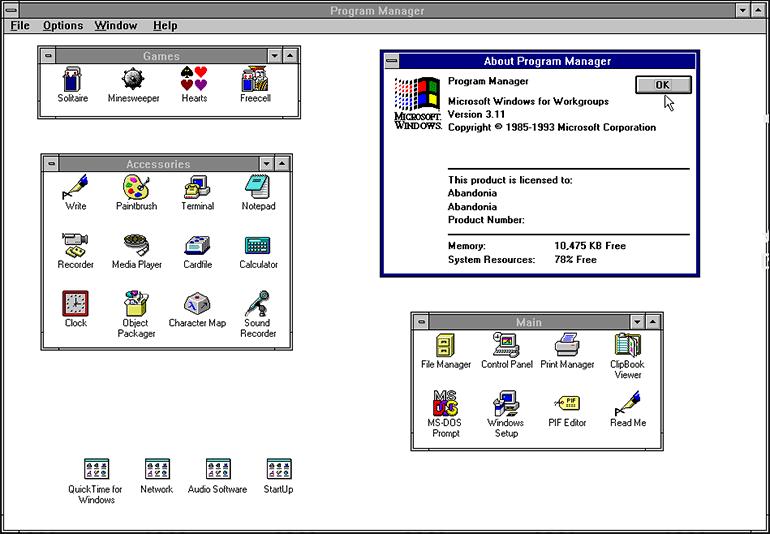 Windows 3