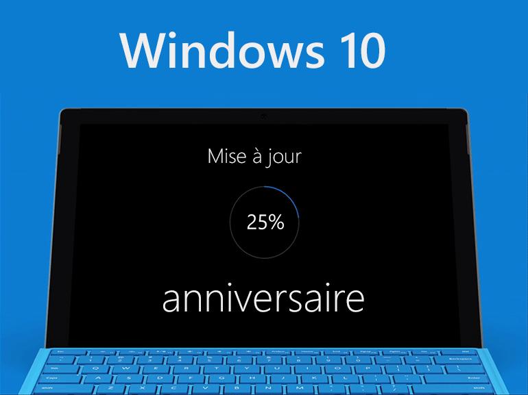 Windows 10 : les nouveautés de la version anniversaire