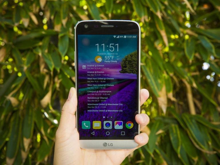 Soldes : LG G5 Titane à 349€