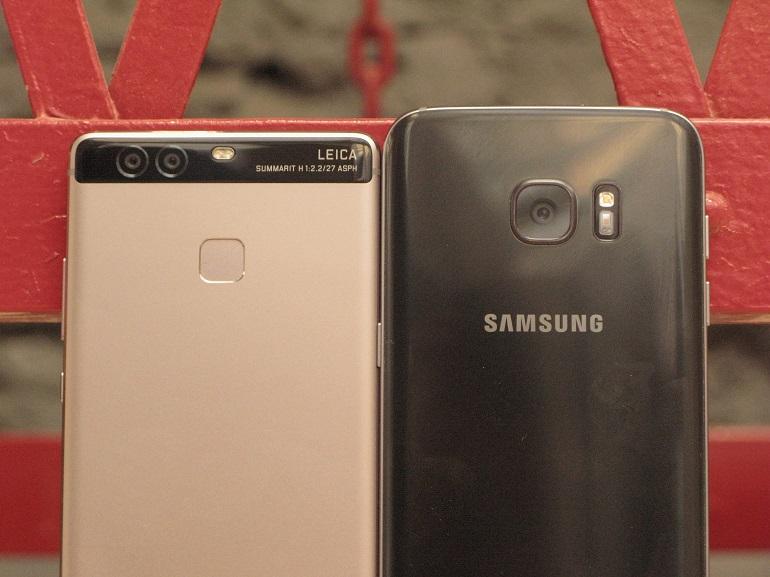 Huawei P9 vs Galaxy S7 : le face à face photo