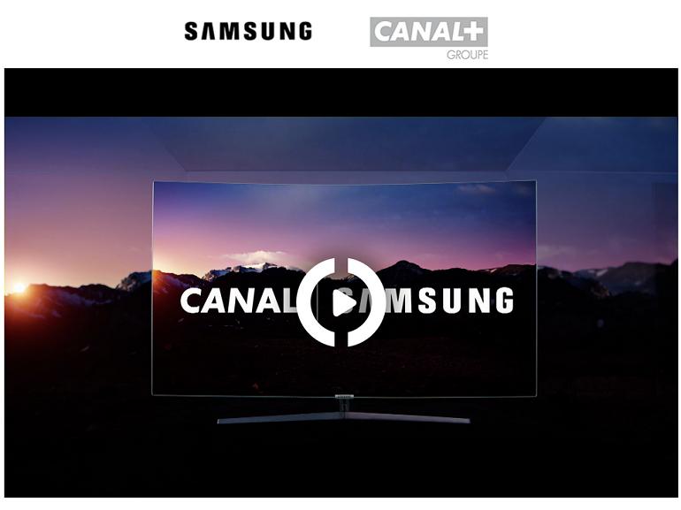 Canal + débarque directement dans les Smart TV Samsung