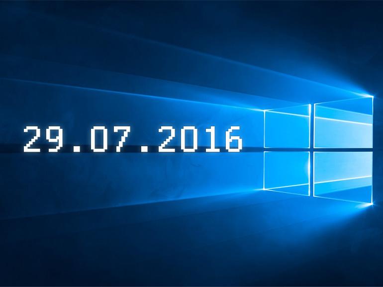 La fin de la gratuité Windows 10 en questions et réponses