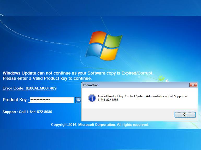Ransomware : de faux techniciens Microsoft imitent les écrans d'erreur Windows